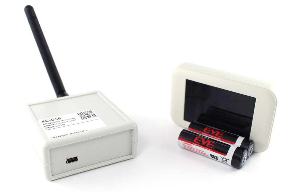 wireless people counter with USB